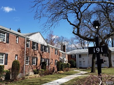 Englewood Condo/Townhouse For Sale: 191 Knickerbocker Road #6
