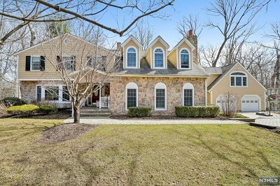 Franklin Lakes Single Family Home For Sale: 235 Haven Road