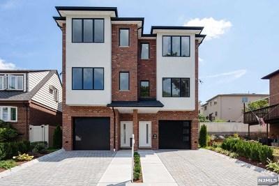 Cliffside Park Condo/Townhouse For Sale: 688 Jefferson Avenue