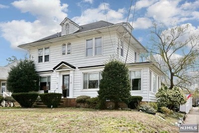 Hackensack Single Family Home For Sale: 39 Spring Valley Avenue