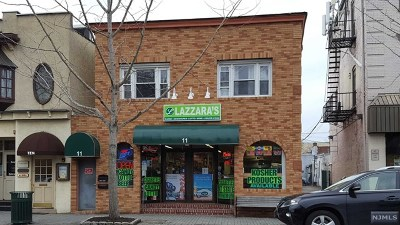 Tenafly Commercial For Sale: 11 West Railroad Avenue
