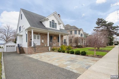 Hasbrouck Heights Single Family Home For Sale: 342 Terrace Avenue