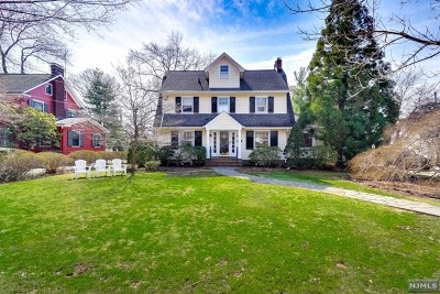 Glen Rock Single Family Home For Sale: 37 Emerson Road