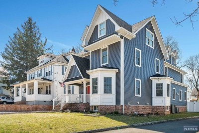 Rutherford Single Family Home For Sale: 249 West Passaic Avenue