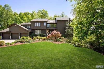 Closter Single Family Home For Sale: 5 Flamm Brook Road