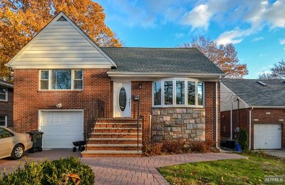 Fort Lee Single Family Home For Sale: 1312 Anderson Avenue