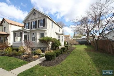 Totowa Single Family Home For Sale: 114 Lincoln Avenue