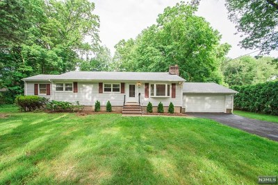 Wyckoff Single Family Home For Sale: 376 Newtown Road