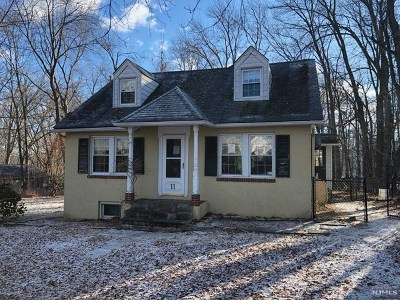 West Milford Single Family Home For Sale: 11 Vine Avenue