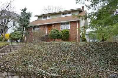 Bogota Single Family Home For Sale: 229 Ridgefield Avenue