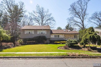 Oradell Single Family Home For Sale: 963 Wildwood Road
