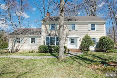 Upper Saddle River Single Family Home For Sale: 4 Highview Terrace