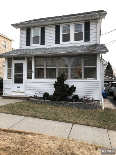 Carlstadt Single Family Home For Sale: 596 Central Avenue
