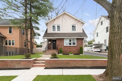 Rutherford Single Family Home For Sale: 15 Walnut Street