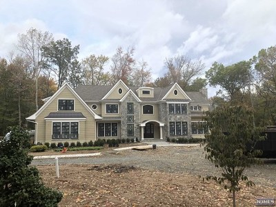 Saddle River Single Family Home For Sale: 1 Elden Drive