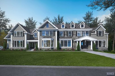 Saddle River Single Family Home For Sale: 36 Old Woods Road