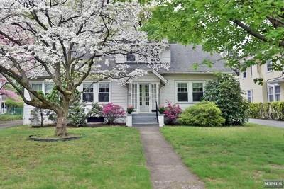 Glen Rock Single Family Home For Sale: 645 Doremus Avenue