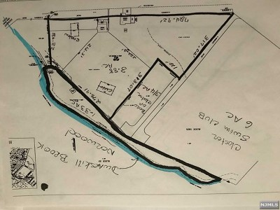 Closter Residential Lots & Land For Sale: 375 Blanch Avenue