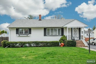 Hasbrouck Heights NJ Single Family Home For Sale: $359,000