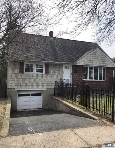 Ridgefield Park NJ Multi Family 2-4 For Sale: $394,500