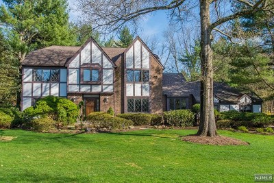 Upper Saddle River Single Family Home For Sale: 51 Burnwood Lane