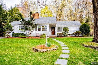 Closter Single Family Home For Sale: 105 Chestnut Avenue