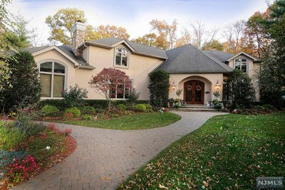 Woodcliff Lake Single Family Home For Sale: 195 Glen Road