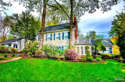 Tenafly Single Family Home For Sale: 444 Knickerbocker Road