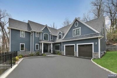 Ho-Ho-Kus NJ Single Family Home For Sale: $1,599,000