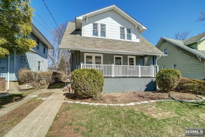 Teaneck Single Family Home For Sale: 29 Franklin Road