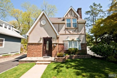 Leonia Single Family Home For Sale: 141 Lakeview Avenue