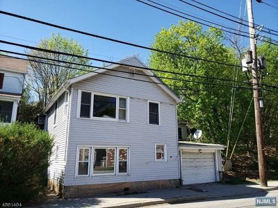 Pompton Lakes Single Family Home For Sale: 89 Cannonball Road