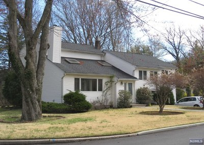 Demarest Single Family Home For Sale: 91 Holland Avenue