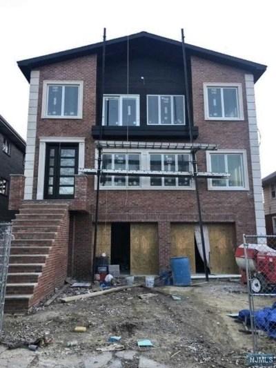 Cliffside Park Multi Family 2-4 For Sale: 412 Lawton Avenue