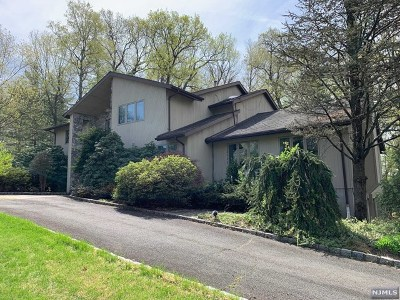 Franklin Lakes Single Family Home For Sale: 792 High Woods Drive