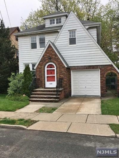 Cliffside Park Single Family Home For Sale: 544 Westview Avenue