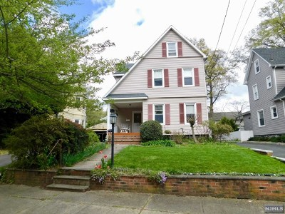 Glen Rock Single Family Home For Sale: 15 South Highwood Avenue