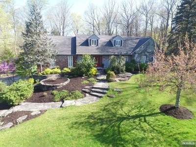 Upper Saddle River Single Family Home For Sale: 15 Aldbury Drive