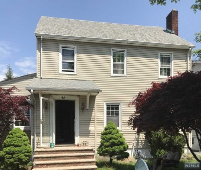 Clifton Single Family Home For Sale: 48 Laurel Avenue