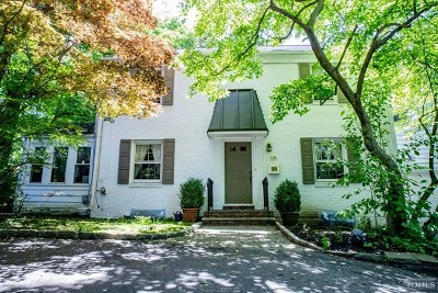 Tenafly Single Family Home For Sale: 118 Engle Street