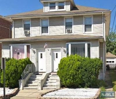 Cliffside Park Multi Family 2-4 For Sale: 425-427 Lincoln Avenue