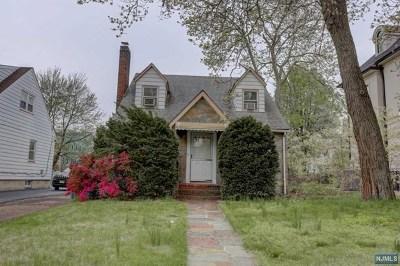 Passaic Single Family Home For Sale: 262 Passaic Avenue
