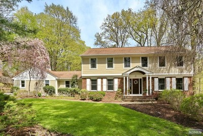 Upper Saddle River Single Family Home For Sale: 7 Stonegate Road