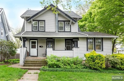 Ridgefield Park Single Family Home For Sale: 41 Bergen Avenue
