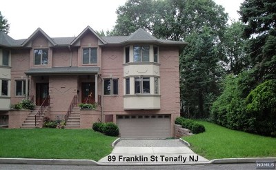 Tenafly Single Family Home For Sale: 89 Franklin Street