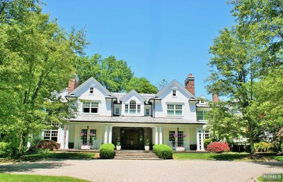 Saddle River NJ Single Family Home For Sale: $4,548,000