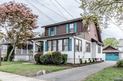 Passaic County Single Family Home For Sale: 106 Sylvester Avenue