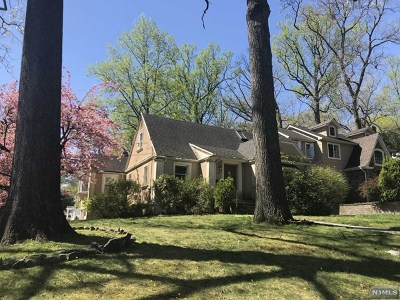 Cresskill Single Family Home For Sale: 80 Lexington Avenue
