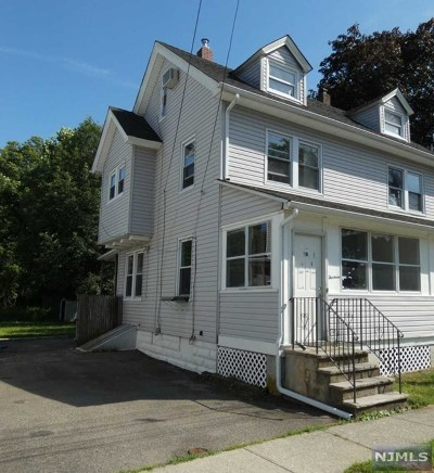 Pompton Lakes Single Family Home For Sale: 13 Walnut Street