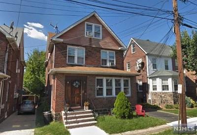 Cliffside Park Multi Family 2-4 For Sale: 515 Saint Pauls Avenue